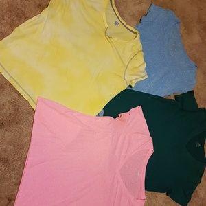 Tops - Bundle of 4 women's s/s shirts